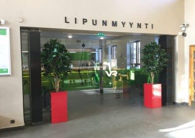 Referenssi VR Lahti silkki-istutukset